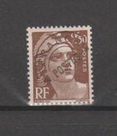 FRANCE / 1945-1951 / Y&T Préo N°  95 ** : Marianne De Gandon 2F50 Brun - Gomme Intacte X 1 - 1893-1947