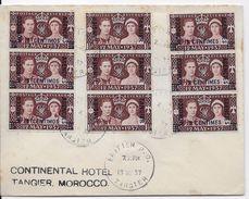 Maroc Anglais - Lettre - Morocco Agencies / Tangier (...-1958)