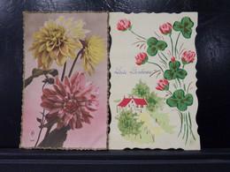 267 . PORTE BONHEUR . FLEURS - Flowers