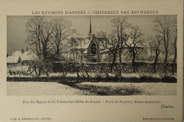 Deurne (Antwerpen) Kerk En Pastorij (Sneeuw Gezicht) Ca 1900 Uitg. Hermans No 97 - Antwerpen