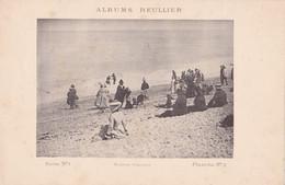 Image : ALBUMS REULLIER : Série N°1 - Pl.  N°2 : La Plage : Animée : Femmes à Chapeaux : MODE : 24,5cm X 16cm - Andere