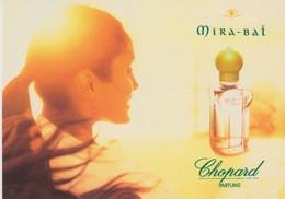 "PUBBLICITA' ADVERTISING CARTOLINA CITRUS N°77 - ""MIRA-BAJ  CHOPORD PARFUMS"" - Advertising"