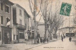 CPA  84 BEDOIN LE COURS ANIME CACHET COURSE AUTOMOBILES 1908  MAUVAIS ETAT - Zonder Classificatie