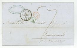 SEDAN 1847 Pour Francomont Bertiche, Bonjean, Chesnon - 1801-1848: Precursors XIX