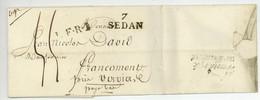7 SEDAN L.F.R.I.  Frankryk Ver Dinant 1827 Abraham Poupart - 1801-1848: Precursors XIX