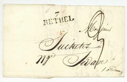 7 RETHEL 1825 Pour Sedan - 1801-1848: Precursors XIX
