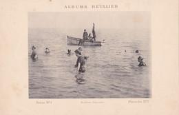 Image : ALBUMS REULLIER : Série N°1 - Pl.  N°7 : Baignade - Bateau - Maillot De Bains à Rayures  : MODE : 24,5cm X 16cm - Andere