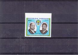 Gabon - Yvert 438 ** - NON Dentelé - Anniversaire De L'Indépendance - - Gabon