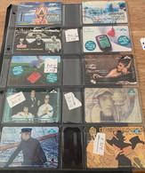 Belgie - Telecard Belgacom 1997 Tot 1998 - Stripkaarten Verzameling - Sammlungen