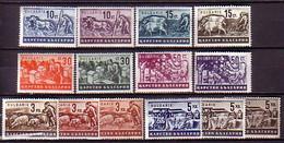 BULGARIA - 1940 - 1944 - Propagande Pour L'agricol Produis - 14v** - Nuevos