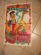 Poster Johan Et Pirlouit Peyo 1969 - Spirou Magazine