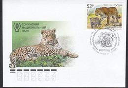 Europe CEPT 2021 M Russia Russland National Endangered Wildlife FDC - 2020