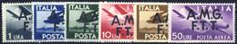 ** 1947, Posta Aerea Serie Completa Di 6 Valori Integri, Sass. 1/6 - Non Classificati