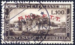 O 1949, Romana, Usato, Sass. 41 - Non Classificati