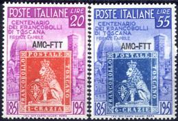 ** 1949, Serie Completa Di 2 Valori, Integri, Sass. 108/9 - Non Classificati