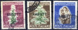 O 1950, Sass. 84/86 - Non Classificati