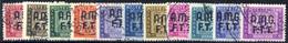 O 1947, Serie Completa Di 11 Valori, Usati, Sass. 5/15 - Non Classificati