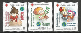 HR 2020-ZZ156-8 RED CROSS, HRVATSKA CROATIA, 3v, MNH - Croatia
