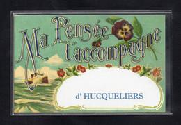 62-CARTE POSTALE - HUCQUELIERS - Other Municipalities