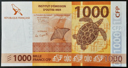 ♛ FRENCH PACIFIC TERRITORIES - 1.000 Francs Nd.(2014) UNC P.6 - French Pacific Territories (1992-...)