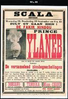 Affiche Entoilée YLANEB  1945  MAGIE SCALA BRUGGE Bruges Belgique Tekst In Het Nederlands Toveren 60x80 - Zonder Classificatie
