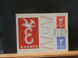 B4967  DOC.  BELGE 1958 - Lettres & Documents