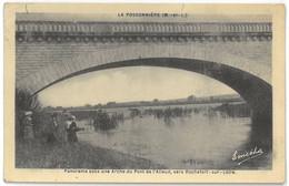 CPA LA POSSONNIERE - Panorama Sous Une Arche Du Pont De L'Alleud - Animée - Ed. M. Chrétien Et Fils - Otros Municipios