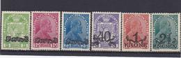 Liechtenstein 1920, Cat. Yvert N° 11/16 ** Prince Jean II Et Armoiries TB - Unused Stamps