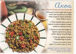 L'AXOA  : Gastronomie  Du PAYS BASQUE    ; EDIT:  JACK   N° 8948 (neuve) - Recipes (cooking)