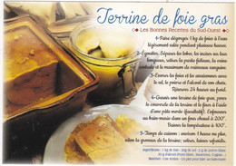 TERRINE DE FOIE GRAS  : Gastronomie  Du PAYS BASQUE    ; EDIT:  JACK   N° 9866  (neuve) - Recipes (cooking)