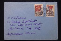 U.R.S.S. - Enveloppe De Leningrad Pour Les Etats Unis En 1953 - L 92335 - Covers & Documents