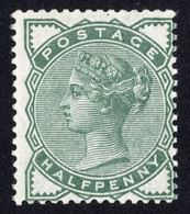 Timbre Grande Bretagne Reine Victoria Half Penny SG164 Neuf Vert - Unused Stamps