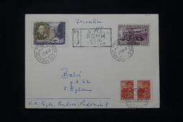 U.R.S.S. - Carte De Correspondance En Recommandé De Kohn Pour Balvi En 1958 - L 92342 - Covers & Documents