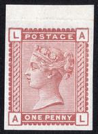 Timbre Grande Bretagne Reine Victoria Un Penny Rouge Vénitien SG166 Neuf Imprimatur - Unused Stamps