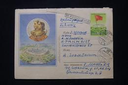 U.R.S.S. - Enveloppe De Moscou Pour La Suisse En 1956 - L 92345 - Storia Postale