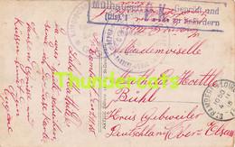 CPA AMITIEES DE SAINT RAMBERTS LOIRE MULHAUSEN GEPRUFT KRIEGSGEFANGENENSENDUNG - Oorlog 1914-18
