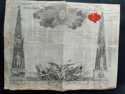 Antoine Joseph Santerre - Prachtvolles Brevet Gesiegelt Und Unterzeichnet / Französische Revolution / Autograph - Autographs