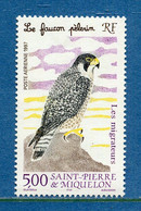 ⭐ Saint Pierre Et Miquelon - Poste Aérienne - YT PA N° 76 ** - Neuf Sans Charnière - 1997 ⭐ - Nuovi
