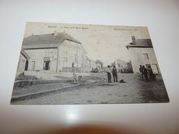 70 HAUTE SAONE BOULT CPA LA PLACE ET LA ROUTE NEUVE ANNEE 1916 - Sonstige Gemeinden