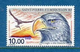 ⭐ Saint Pierre Et Miquelon - Poste Aérienne - YT PA N° 78 ** - Neuf Sans Charnière - 1998 ⭐ - Nuovi