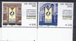 San Marino 1999 Ciclismo / Radfahren Michel Nr. 1834 - 1835 - Unused Stamps