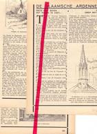 Orig. Knipsel Coupure Tijdschrift Magazine - Artikel Vlaamse Ardennen , Volkegem, Geraardsbergen, Anzegem - 1931 - Unclassified