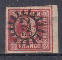 YT  N° 10 BAVIERE OBLITERATION 522  BORD DE FEUILLE - Bayern (Baviera)