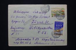 U.R.S.S. - Enveloppe De Moscou En 1955 Pour La Suisse - L 92354 - Covers & Documents