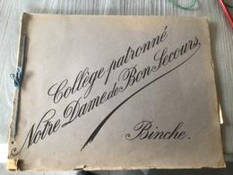 Binche Collège Notre Dame De Bon Secours Livret Avec 5 Illustrations - Binche