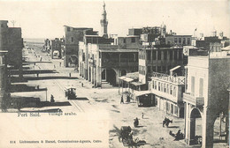 CPA Afrique > Egypte > Port-Saïd Village Arabe - Port Said