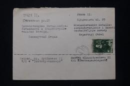 U.R.S.S. - Enveloppe Commerciale De Moscou Pour Prague En 1948  - L 92360 - Covers & Documents