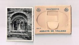 Snapshots.Abbaye De Villers,série 2.10 Photos .format 7 X 9 Centimètres. - Villers-la-Ville