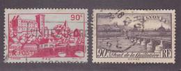 TIMBRE FRANCE N° 449/450 OBLITERE - Usados