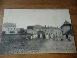 14 - Ryes La Gare Mairie Ecole Gnedarmeri ( Bien Voir Les Scan En état) - Zonder Classificatie